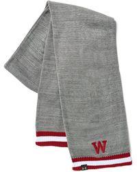 Under Armour - Men's Ua Wisconsin Iconic Stripe Scarf - Lyst