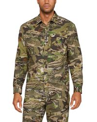 Under Armour - Armourvent Camo Button Down - Lyst
