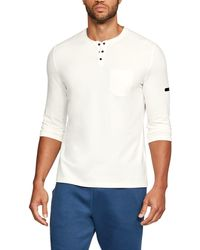 Under Armour - Men's Ua Unstoppable Knit 3⁄4 Utility Henley - Lyst