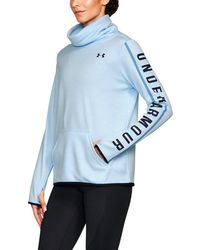 Under Armour - Women's Armour® Fleece Graphic Twist Pullover - Lyst