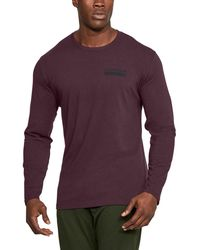 Under Armour - Men's Ua Back Graphic Long Sleeve T-shirt - Lyst
