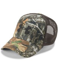 d9afb239e Under Armour Mesh Back Camo Hat for Men - Lyst
