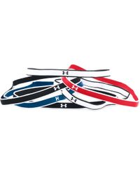 Under Armour - Women's Ua Mini Headbands - 6 Pack - Lyst