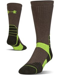 Under Armour - Men's Ua Scent Control Boot Socks - Lyst