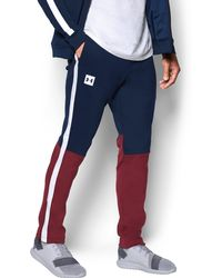 Under Armour | Men's Ua Sportstyle Track Pants | Lyst
