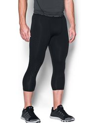 Under Armour - Men's Heatgear® Coolswitch Armour 3⁄4 Compression Leggings - Lyst