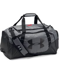 fa27e4d2af Under Armour - Men s Wisconsin Ua Undeniable 3.0 Medium Duffle Bag - Lyst