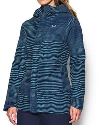 b2154cf26 Under Armour Women's Ua Coldgear® Infrared Ampli Jacket in Black - Lyst