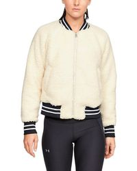 Under Armour - Be Seen Sherpa Bomber - Lyst