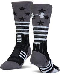 Under Armour - Men's Ua Unrivaled Stars & Stripes Crew Socks - Lyst