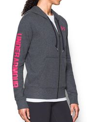 Under Armour - Terry Full Zip - Lyst