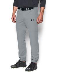 Under Armour - Men's Ua Clean Up Cuffed Baseball Pants - Lyst