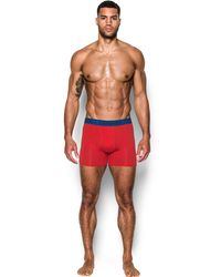"Under Armour - Men's Charged Cotton® Stretch 6"" Boxerjock® 3-pack - Lyst"
