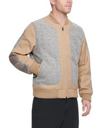 Under Armour - Men's Uas Wool Bomber Jacket - Lyst