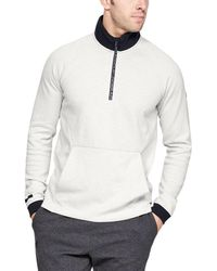 Under Armour - Unstoppable Double Knit 1⁄2 Zip - Lyst