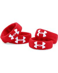 """Under Armour - Ua 1"""" Performance Wristband 4-pack - Lyst"""