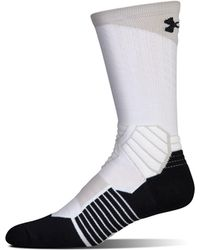 Under Armour - Men's Ua Basketball Drive Crew Socks - Lyst