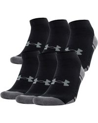 Under Armour - Men's Ua Resistor Iii Lo Cut Socks 6-pack - Lyst