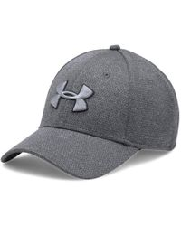 a9e9b4b0f117 Under Armour Men's Ua Blitzing Ii Stretch Fit Cap in Black for Men ...