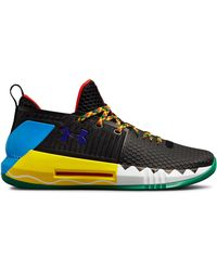 Under Armour - Men's Ua Drive 4 Low Rookie Le Basketball Shoes - Lyst