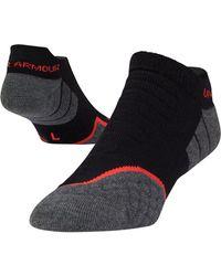 Under Armour - Men's Ua All Season Wool No Show Tab Socks - Lyst