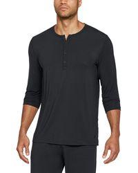 Under Armour - Men's Athlete Recovery Ultra Comfort Sleepwear Henley - Lyst