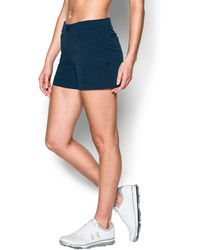 """Under Armour - Women's Ua Links Vented 4"""" Shorty - Lyst"""