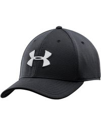 8af6ca3d67f Lyst - Under Armour Men s Ua Blitzing Ii Stretch Fit Cap in Red for Men