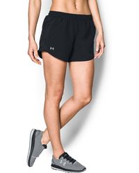 Under Armour - Women's Ua Fly-by Shorts - Lyst