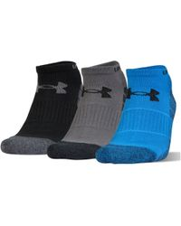 Under Armour - Ua Performance No Show Socks - Lyst
