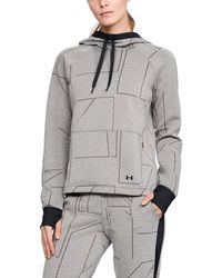 Under Armour - Women's Ua Spacer Burnout Hoodie - Lyst