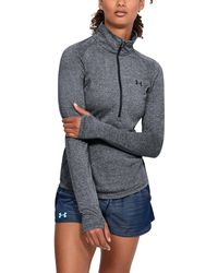 Under Armour - Women's Ua Threadbornetm Twist 1⁄2 Zip - Lyst