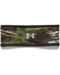 Under Armour - Women's Coldgear® Infrared Fleece Camo Headband - Lyst