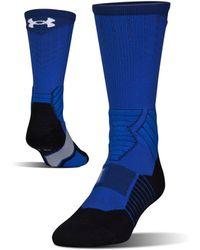 Under Armour - Men's Ua Basketball Drive Crew Socks - Lyst