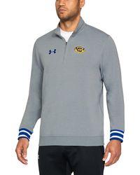 Under Armour - Men's Cal Bears Ua Sweaterfleece 1⁄4 Zip Long Sleeve - Lyst