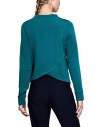 Under Armour - Women's Ua Modal Terry Crew - Lyst