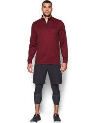 Under Armour - Men's Armour® Fleece Lightweight 1⁄4 Zip - Lyst