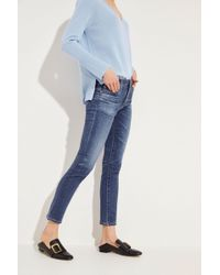 AG Jeans - Jeans 'The Prima Ankle' Blau - Lyst