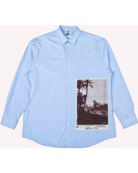 OAMC - Postcard Button Up Shirt - Lyst