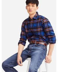 Uniqlo - Men Regular-fit Jeans - Lyst
