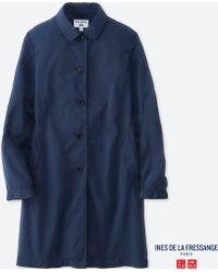 Uniqlo - Women Idlf Soutien Collar Coat - Lyst