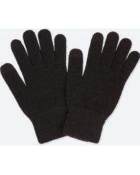 Uniqlo - Heattech Knitted Gloves - Lyst