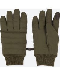 Uniqlo - Men Heattech-lined Quilted Gloves - Lyst