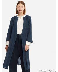 Uniqlo - Women Wrap Long Coat (hana Tajima) - Lyst