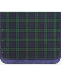 Uniqlo - Fleece Checked Blanket - Lyst