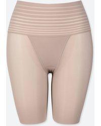 Uniqlo - Women Body Shaper Smooth Unlined Half Shorts - Lyst