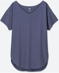 afdec485 Uniqlo Airism Uv Cut Mesh Long Sleeve T-shirt in White - Lyst