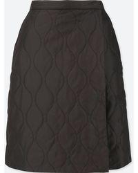 f149bf5770 Lyst - Uniqlo Women Blocktech Warm-lined Skirt in Gray