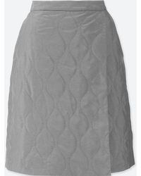 Uniqlo - Women Windproof Warm-lined Wrap Skirt - Lyst
