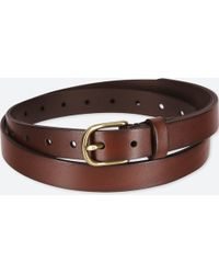 Uniqlo - Women Vintage Skinny Belt - Lyst